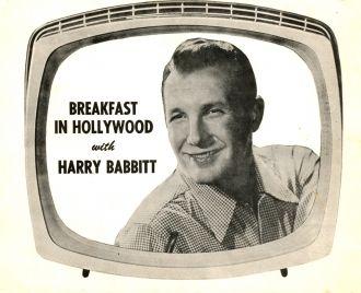 Breakfast in Hollywood - Harry Babbitt