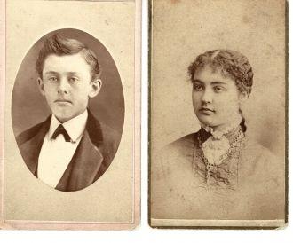 Harry Ladd and Clara Fielding Ladd