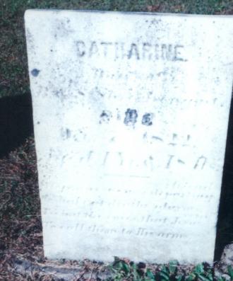 Catherine King Gravesite
