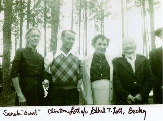 Sweet,Clinton Lott, Ethel and Becky