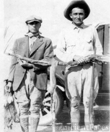Charlie Talmage McKinley and Friend