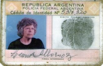 Leonor Albornoz, Argentina