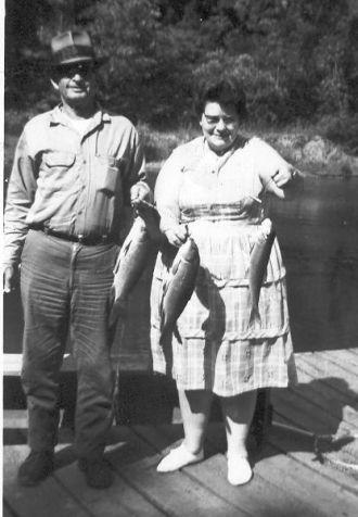 Roy Tindall and Edna Swyers-Tindall