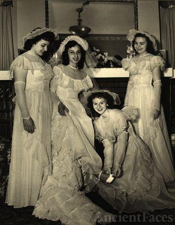 Nancy Finazzo & Bridesmaids