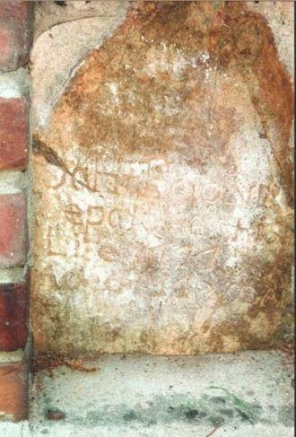 Sarah Boone's grave stone