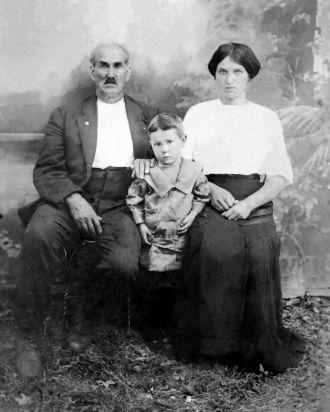 Erwin, Dora Jane & Vance Hensley