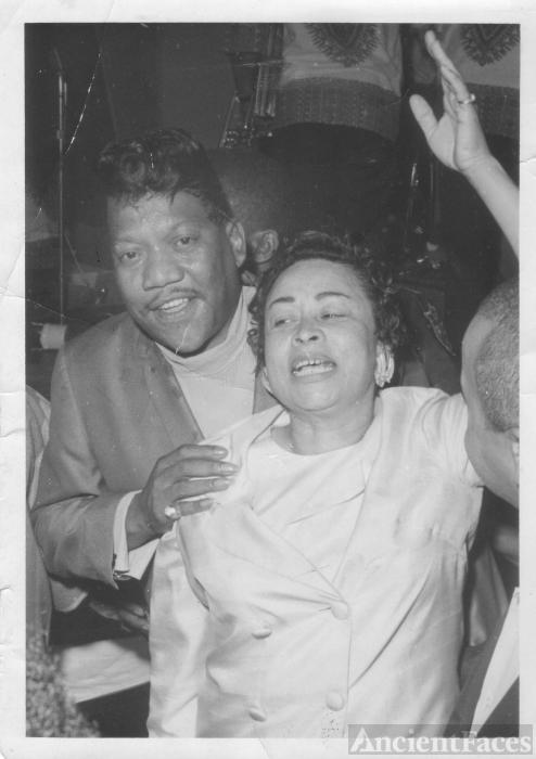 Viessa Maclin and Bobby Blue Bland