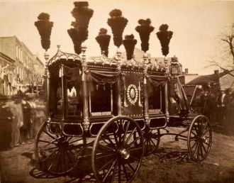 President Abraham Lincoln's hearse