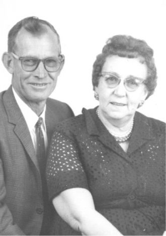 Caruth (Hutsell) & Charles Everett