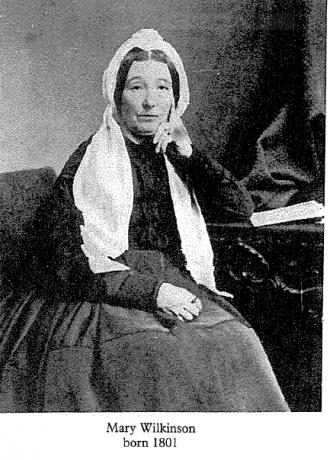 Mary Wilkinson (Nee: West)