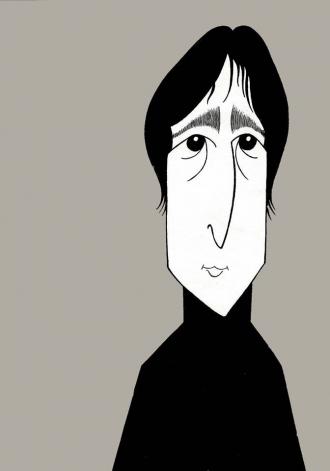 John Lennon by Ken Fallin.