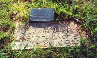 Handmade Headstone