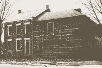 Home of Molly Pitcher circa 1830.
