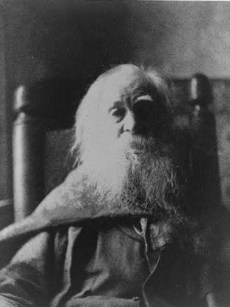 Walt Whitman, 1891