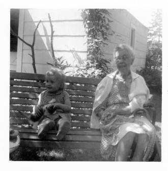 Julie Zeithaml and Mrs. Farley