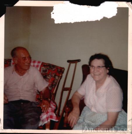 Edward Basham and Ella Akin Basham