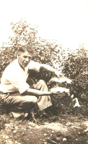 Leonard John Chapman, fishing