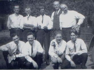 Mahon Family Men, 1925