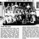 Yates Academy 1922 class picture 6th grade