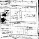 William James Dilley, 1919 document