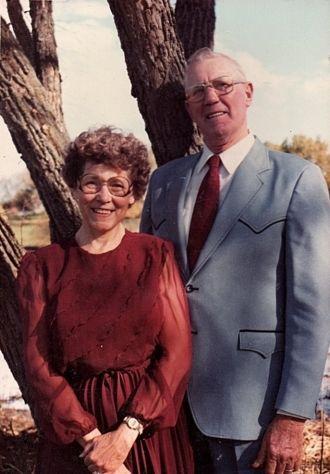 Elmer & Norma Jean (Roos) Dettmer, 1984