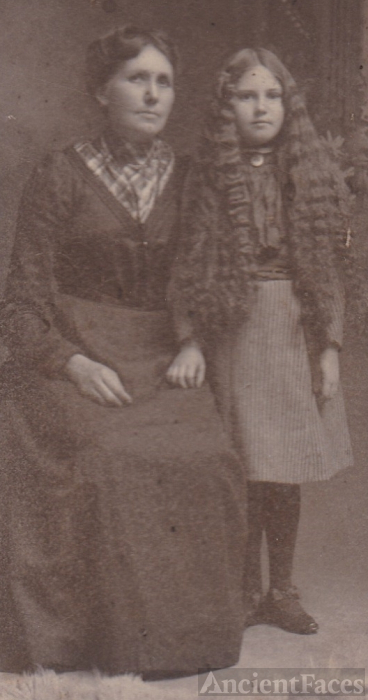 Elma and Mrs. Sather