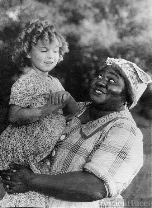 Hattie McDaniel and Shirley Temple.