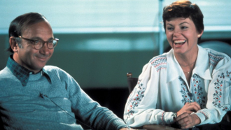 Neil Simon and Marsha Mason