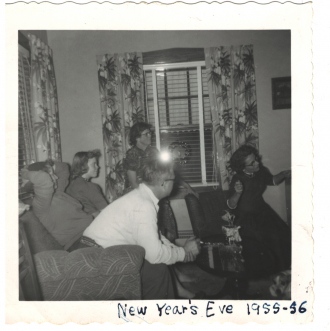 New Years Eve Party 1955