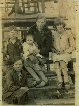 Fannie Mae Hembree and Children