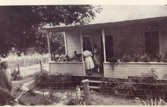Gillenwater Home, 1942