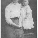 """Martha Alice """"Mattie"""" Cobbs Porter & son Willard Allen """"Buster"""" Porter"""