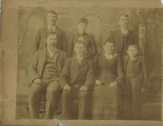 Jacob P. & Rebecca Stewart & Family