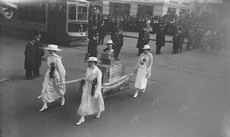 Suffragette parade