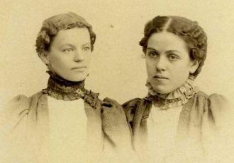 Minnie Huffman & Millie Spence, KS