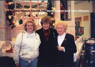 Amy & Carole Nason, Vera Macere
