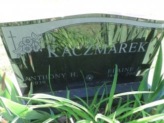 Elaine F Kaczmarek gravesite