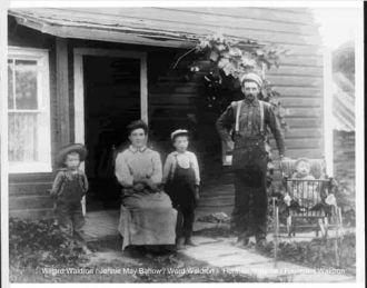 Herman Waldron & Family