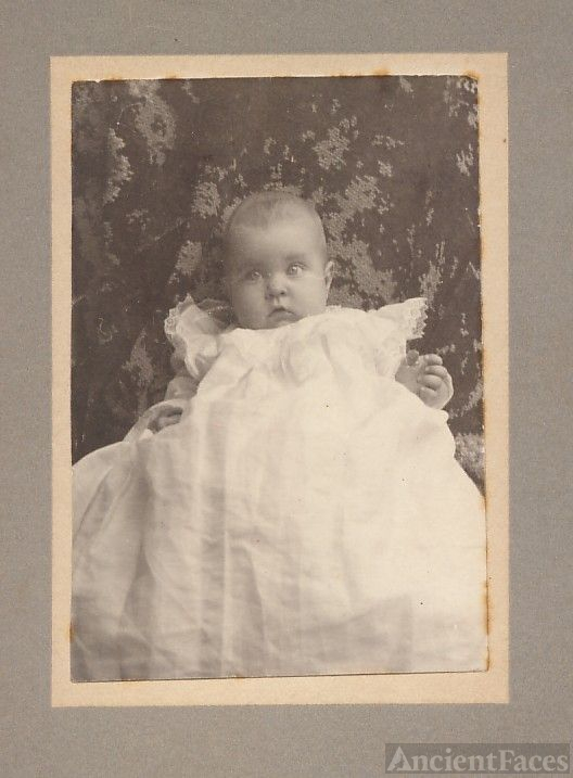 Adorable baby Ethel Perkins (Fords)