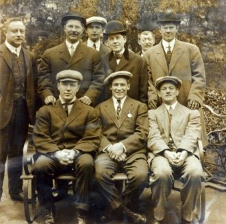 Eddie McGoorty, Ray Bronson, Jimmy Clabby