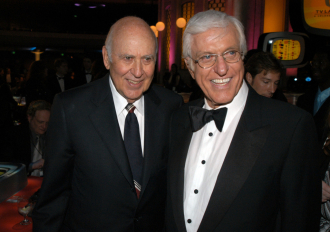 Carl Reiner and Dick Van Dyke