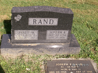 Janet and Joseph Rand Gravesite