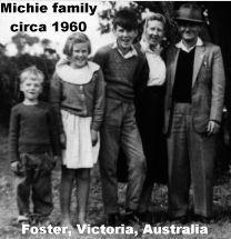 Margaret & Alec Michie family, 1960