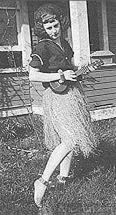 Dorothy Ferguson, hula dancer