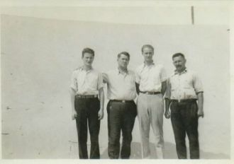 Bruno, Arthur, Frank, & Theodore Heidke, Indiana 1935