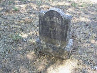 Mary Elizabeth Eastwood Card Ashton Headstone