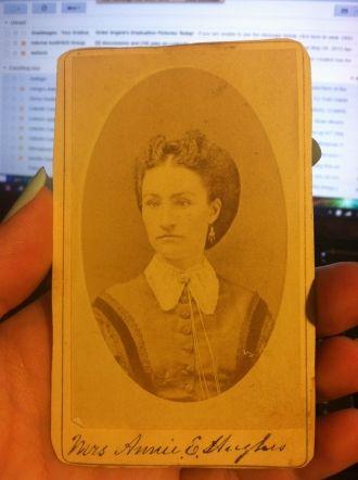 Annie Eliza (Yoakum) Hughes
