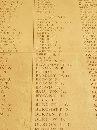 Percy Bish memorial