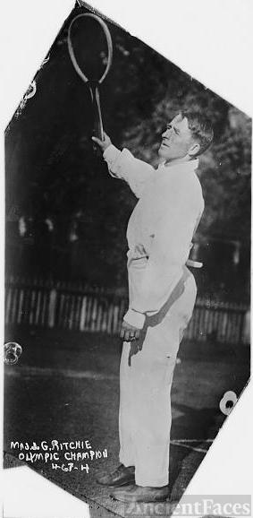 Maj. J.G. Ritchie, Olympic Tennis Champion