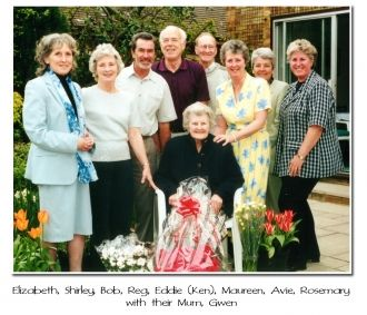 Gwen Hadden Travers and family